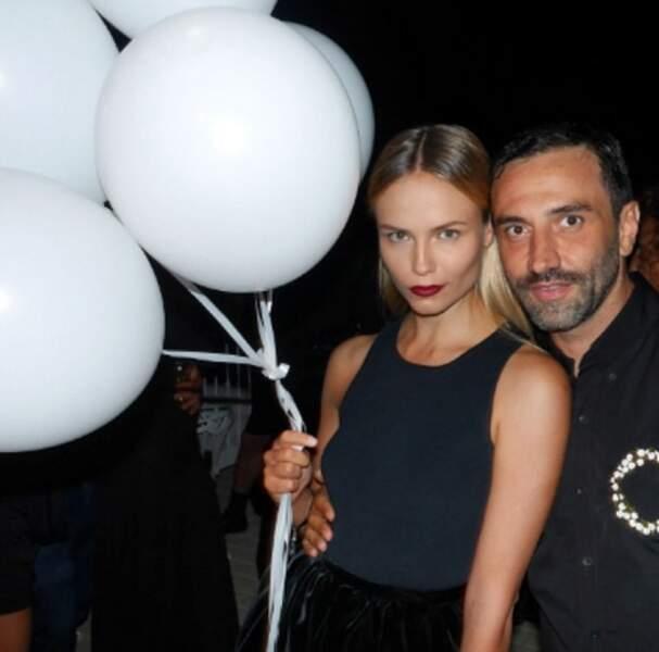 Riccardo et le top Natasha Poly