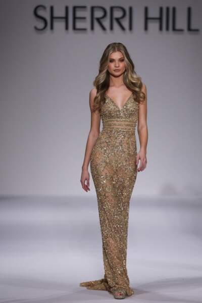 Défilé Sherri Hill à la fashion week de New York
