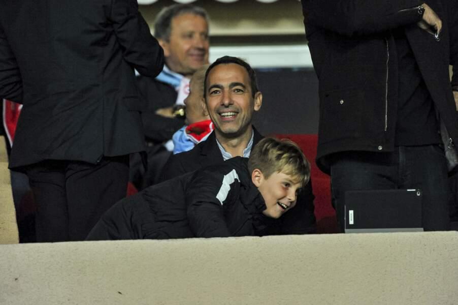 AS Monaco vs Manchester City : Youri Djorkaeff aussi était présent au stade Louis II de Monaco