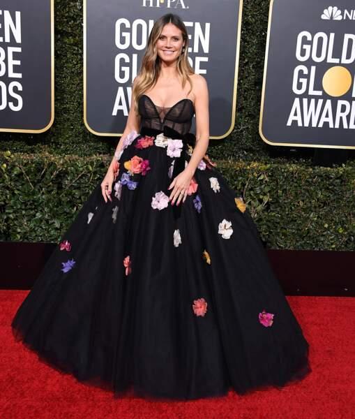 Do Heidi Klum et sa robe bustier oversize
