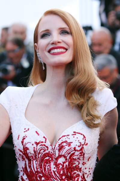 Jessica Chastain et son super brushing