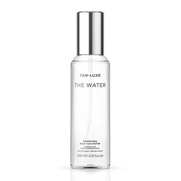 Eau autobronzante The Water, Tan-Luxe, 34€ (prix QVC)