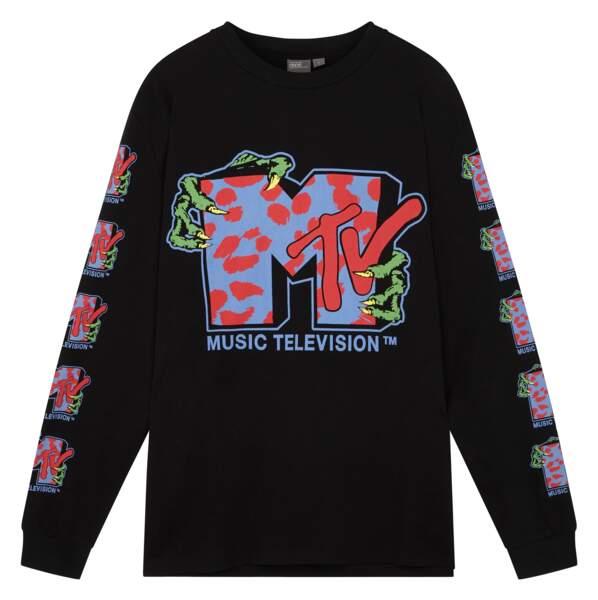 ASOS x MTV : t-shirt manches longues, 35,99€