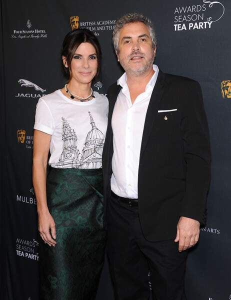 Sandra Bullock et Alfonso Cuaron