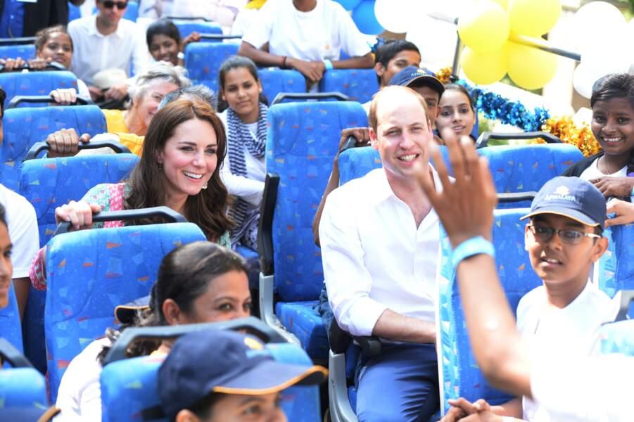 Eh bim, futur roi ou pas, direction le bus