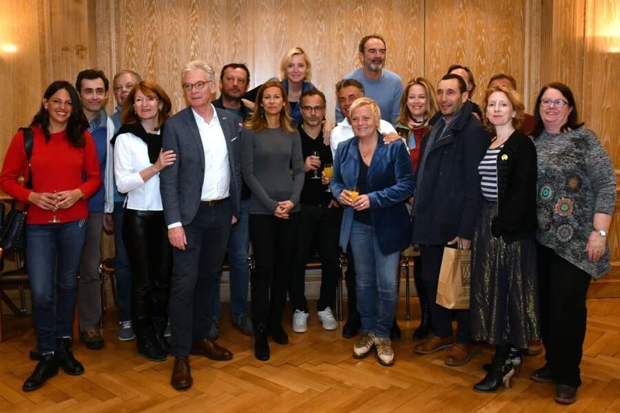 VIP et jury du 35ème festival Mont-Blanc Humour