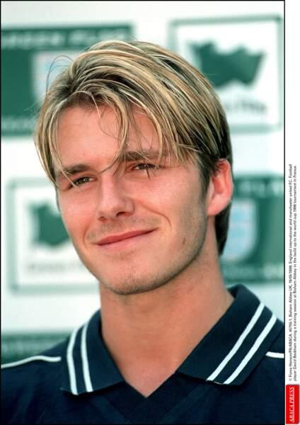 David Beckham en 1998: il cède à la colo