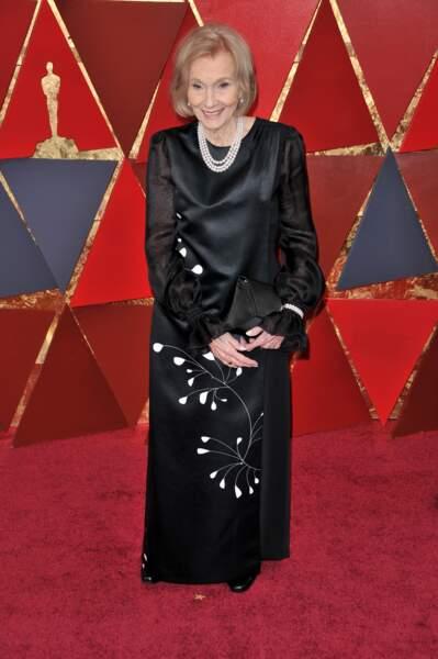 Eva Marie Saint à la 90e cérémonie des Oscars, à Los Angeles le 4 mars 2018