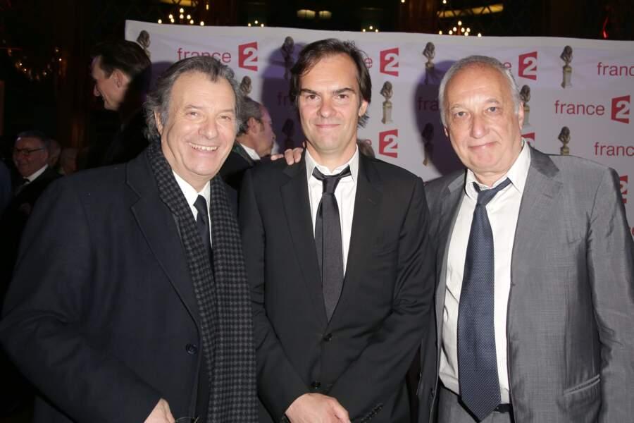 Daniel Russo, Sébastien Thiéry et François Berléand