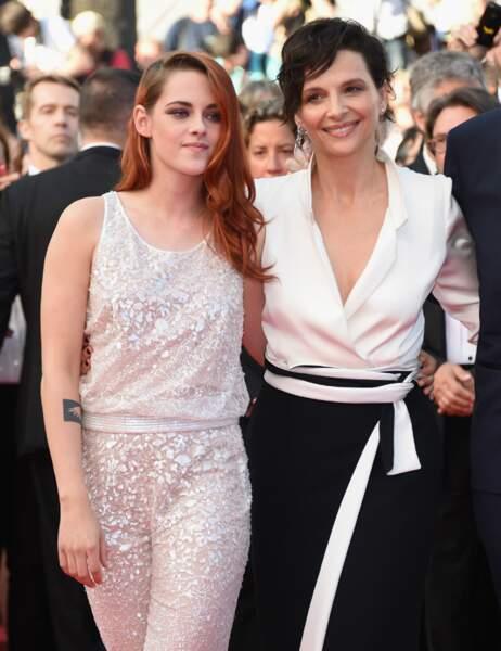 Les deux stars affichent une jolie complicité