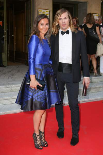 Gala Amnesty International - Emmanuelle Boidron et Christophe Guillarmé qui a créé sa robe