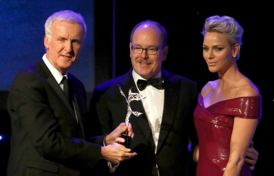 Princess Grace Awards : James Cameron, Albert de Monaco et Charlène de Monaco