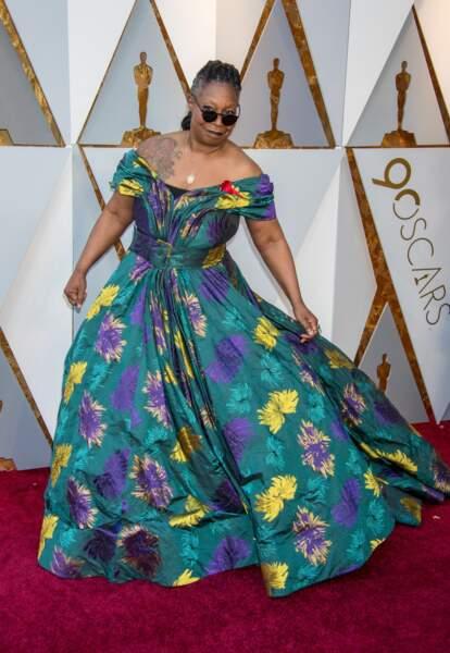 Woopy Goldberg à la 90e cérémonie des Oscars, à Los Angeles le 4 mars 2018