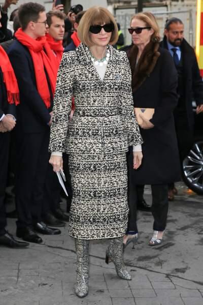 L'icône de la mode Anna Wintour