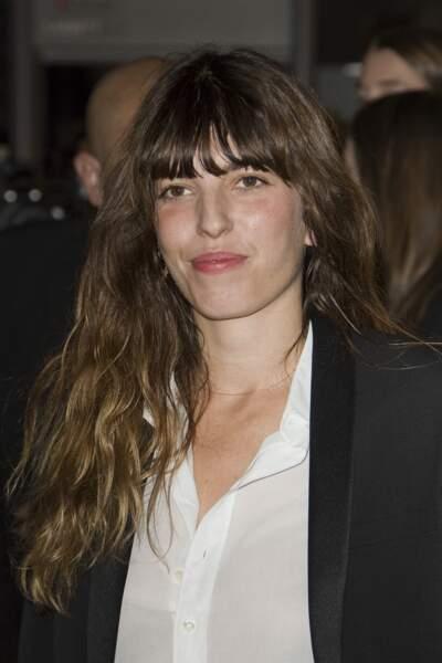 Fashion Week défilé Saint Laurent : Lou Doillon était également présente