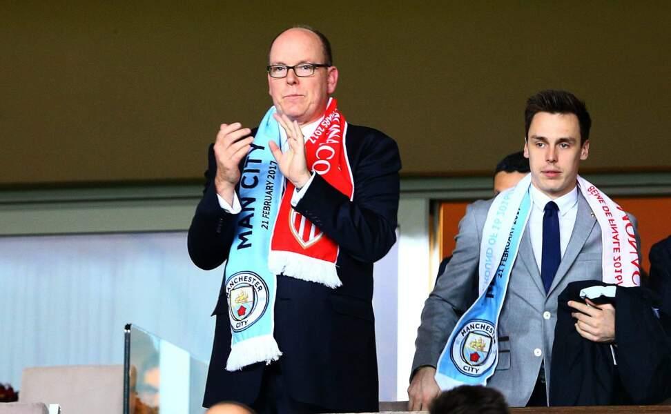 AS Monaco vs Manchester City : Prince Albert II de Monaco et Louis Ducruet prêts à soutenir leur club