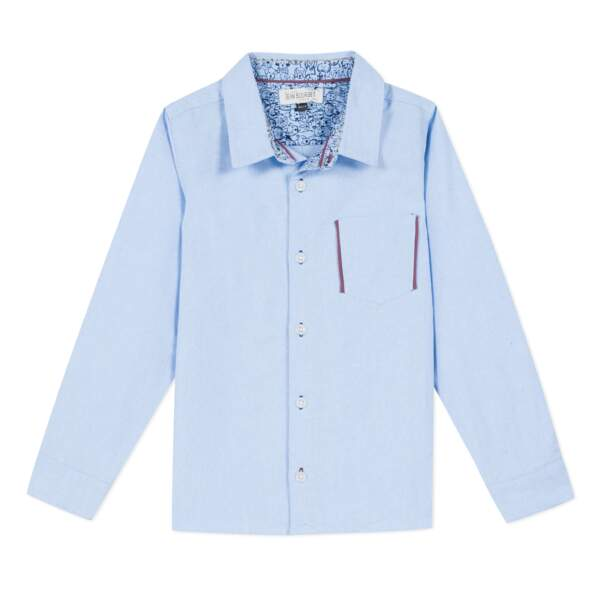 Chemise. Jean Bourget, 50 €
