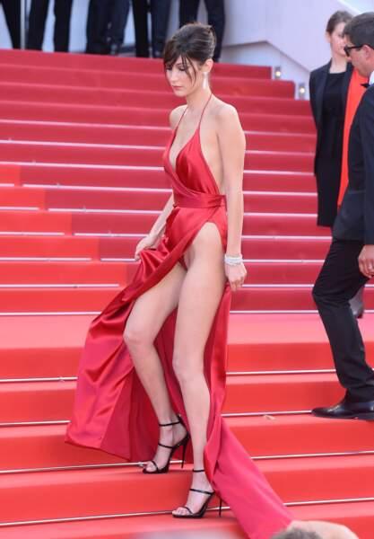Festival de Cannes, les accidents de tenue les plus sexy - mais alors BIEN BIEN raison...