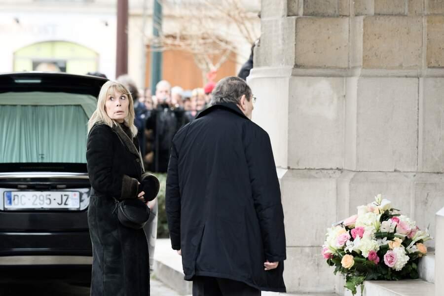 Obsèques de Michèle Morgan - Candice Patou