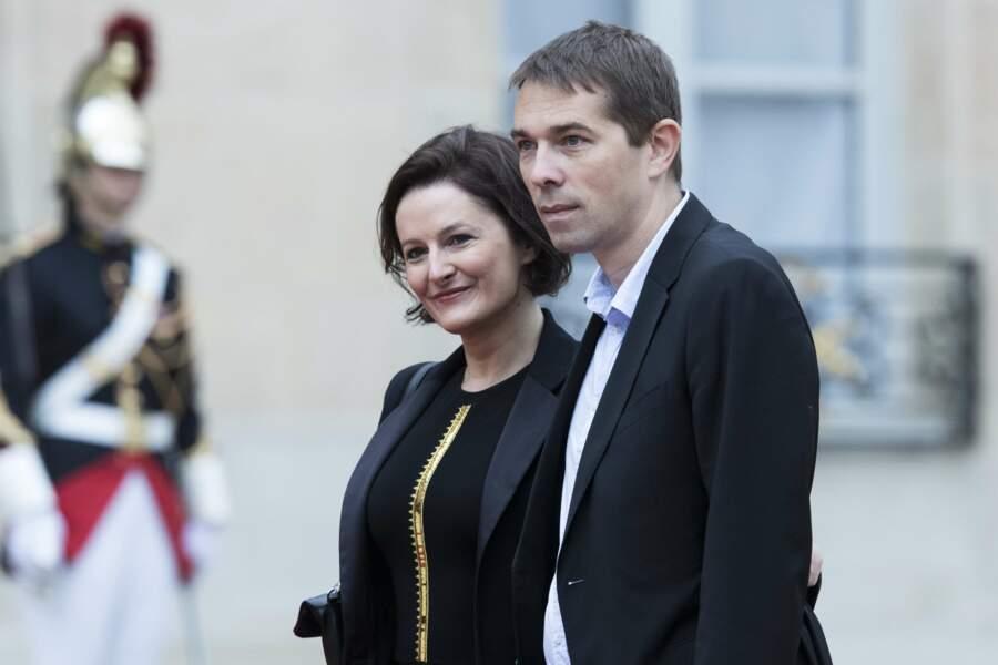 Sébastien Auzière et sa femme