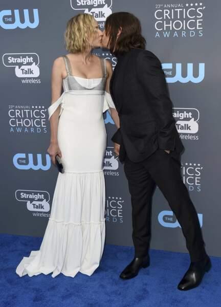 Diane Kruger et Norman Reedus en pleine pelle