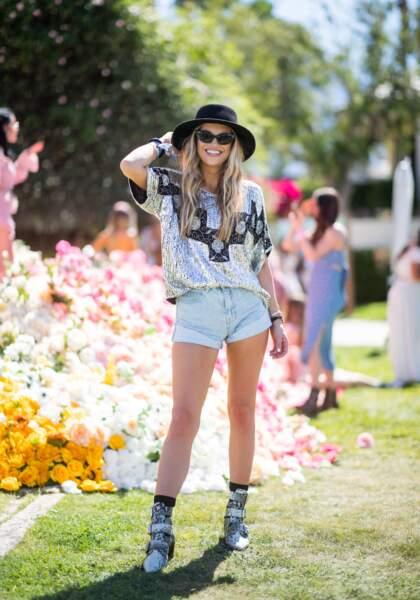 Les meilleurs looks de la première semaine de Coachella : Samantha Berger