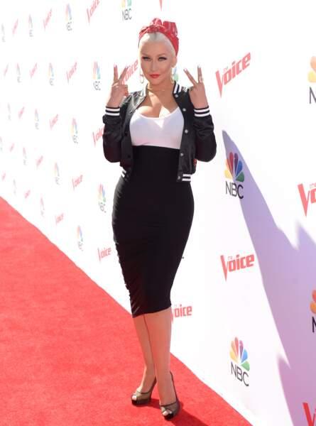Avant-après ces stars qui ont perdu du poids - Christina Aguilera après