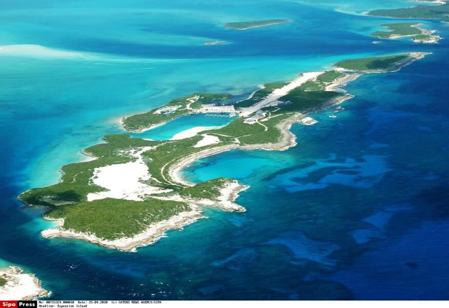 Musha Cay, l'île de David Copperfield, aux Bahamas