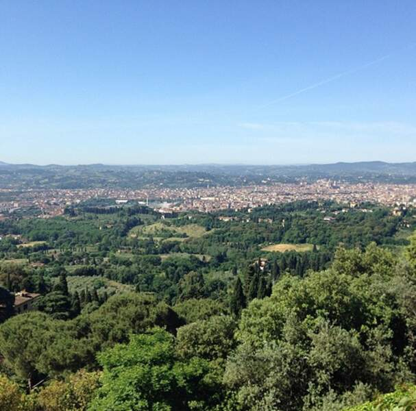 La vue depuis le Forte di Belvedere