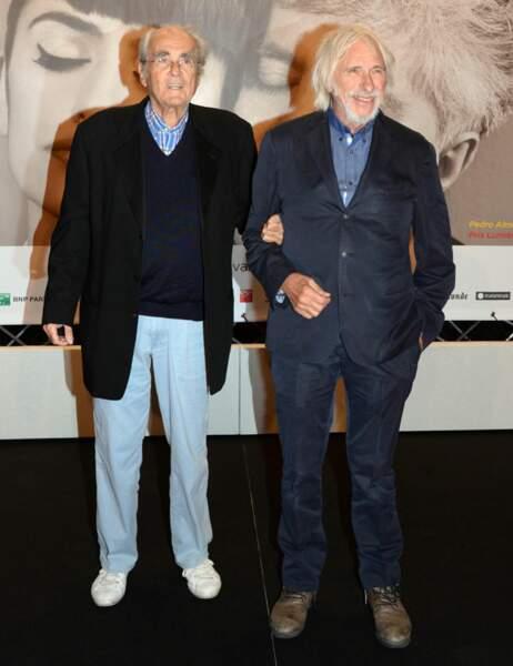Michel Legrand et Pierre Richard