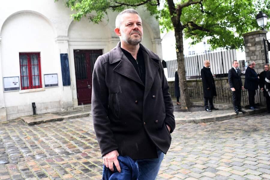 Eric Naulleau aux obsèques de Dick Rivers à Paris
