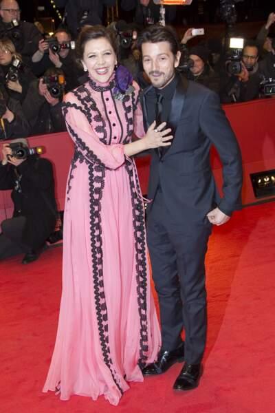 Maggie Gyllenhaal et Diego Luna