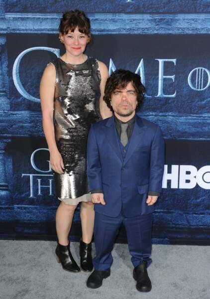 Peter Dinklage (Tyrion Lannister de Game of Thrones) et sa femme Erica Schmidt