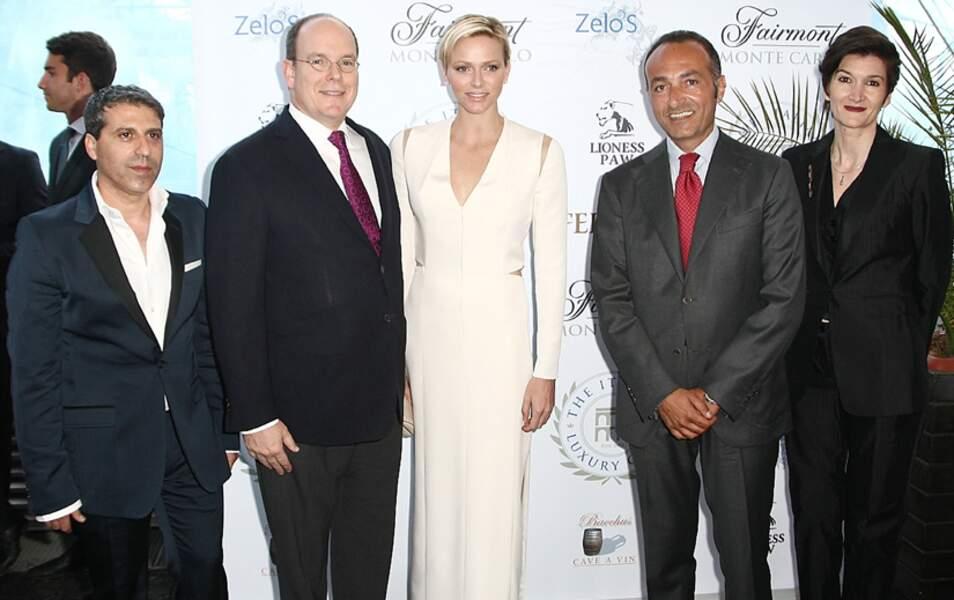 Albert II et Charlène de Monaco