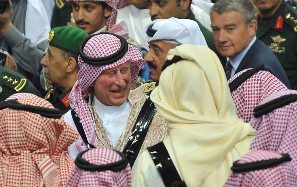 Il n'y a pas à dire, le prince Charles y a vraiment mis du sien