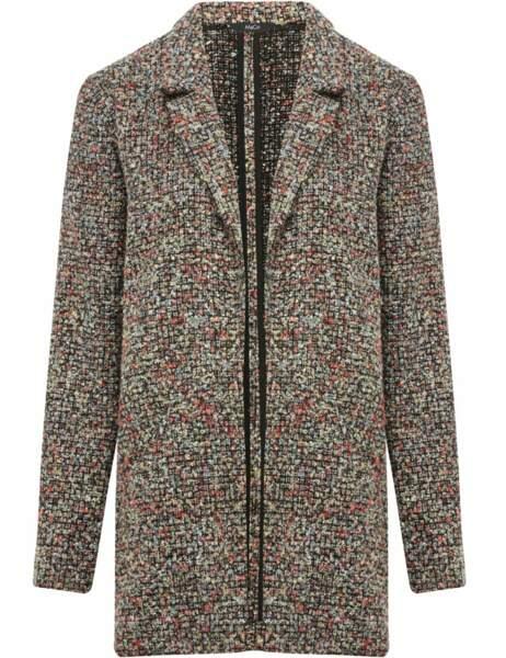 Manteau bord à bord, 52,30€ (M&Co sur mandco.com)
