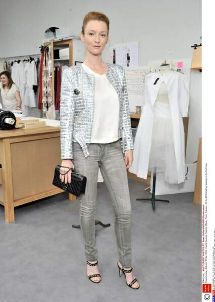 Défilé Chanel Haute Couture : le top Audrey Marnay