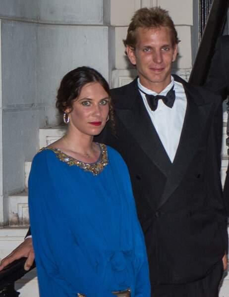 Les jeunes parents du petit Sacha : Andrea Casiraghi et Tatiana Santo-Domingo