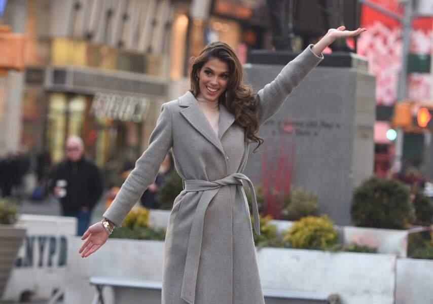 Iris Mittenaere : en tant que Miss Univers, la ville lui appartient