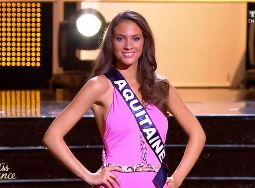 Miss Aquitaine, 3e dauphine