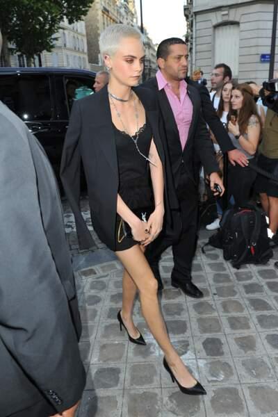Dîner de la Fondation Vogue - Cara Delevingne