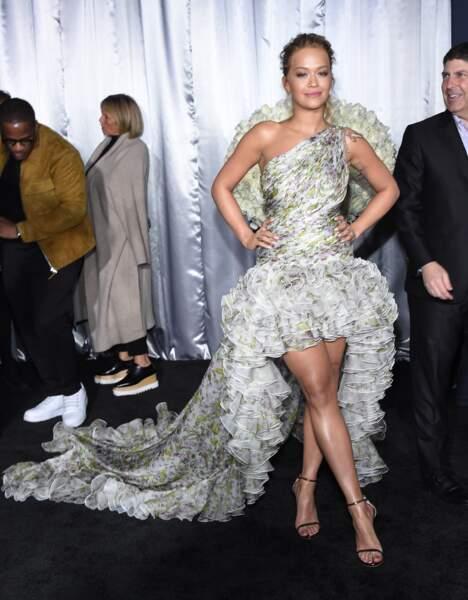 Rita Ora n'a pas voulu rater ça