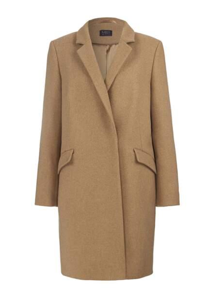 Pardessus en drap de laine 125€ Marks & Spencer