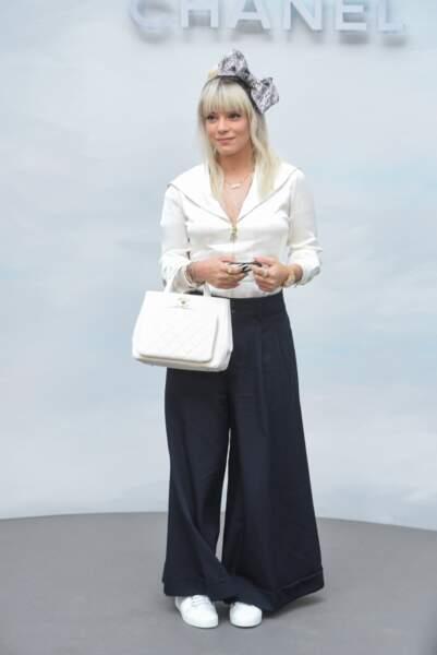 Défilé Chanel : Lily Allen
