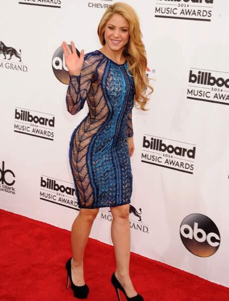 Shakira, la femme de Gerard Piqué (Espagne)