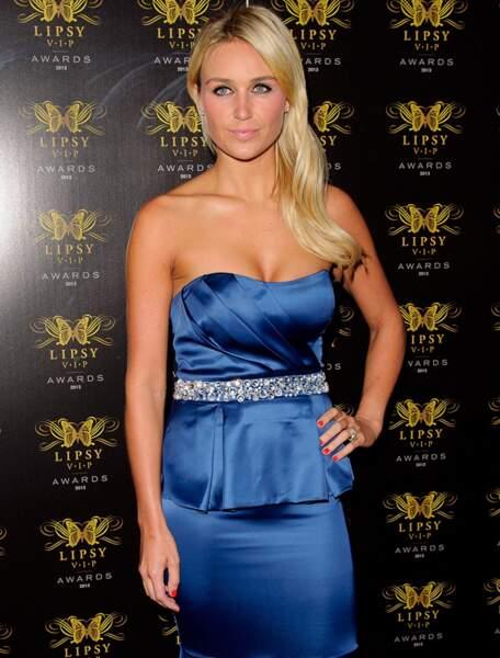Alex Curran, la femme de Steven Gerrard (Angleterre)