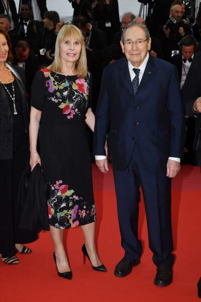 Candice Patou et Robert Hossein