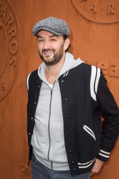 Cyril Lignac et sa casquette en 2016