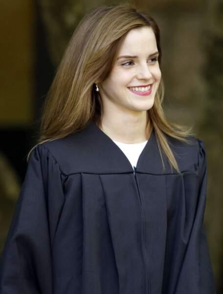 Un moment magique pour l'interprète d'Hermione Granger!