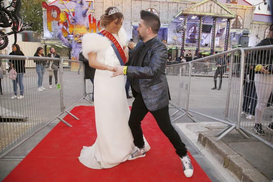 Chris Marques danse avec Miss Esmeralda 2019